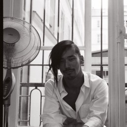 Backstage Yohji Yamamoto SS17