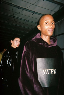 Muf10 FW17 Backstage by Andrei Zozulya Davidov Copenhagen Fashion Week